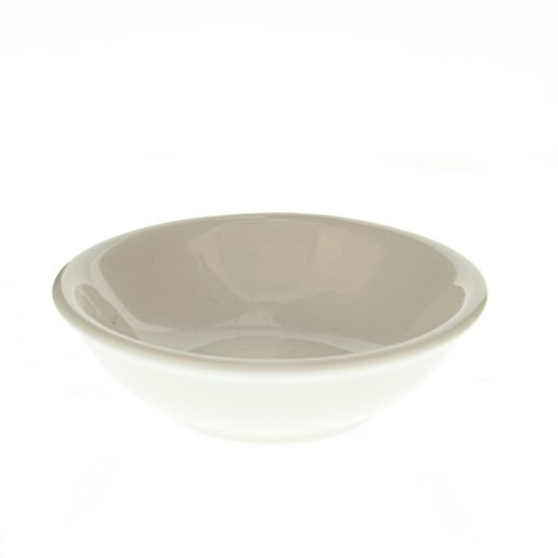 GreenLeaf Round Ceramic Napkin Tray - White, Set of 4