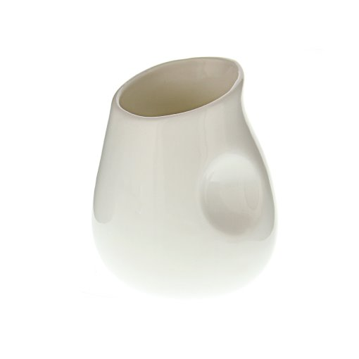 GreenLeaf Ceramic Pourer - White