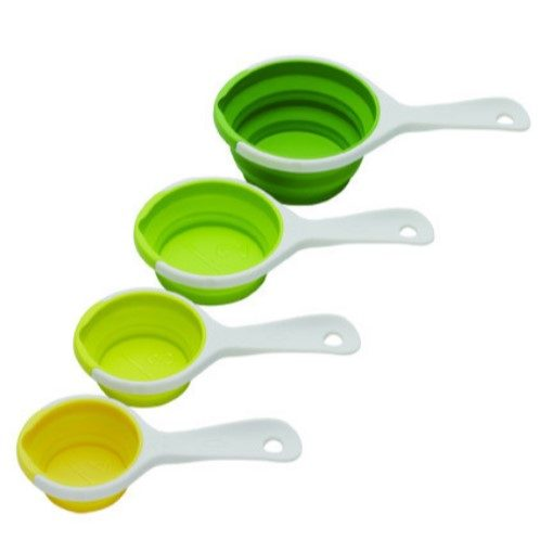 Chef'N Sleekstor Pinch+Pour Measuring Cups 4pc