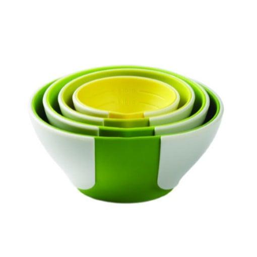 Chef'N Sleekstor Pinch+Pour Prep Bowls 4pc