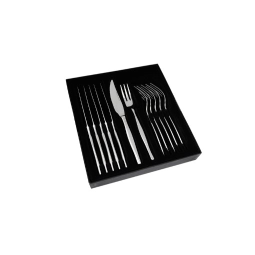 Eetrite Slimline 12 Piece Steak Knife and Fork Set