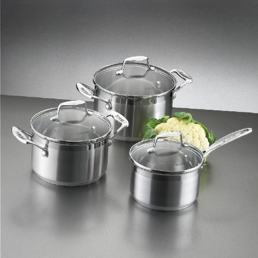 Scanpan Impact 3pc Cookware Set