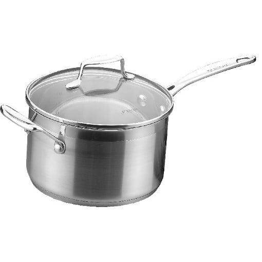 Scanpan Impact Saucepan with lid 3.5 Litres 20cm
