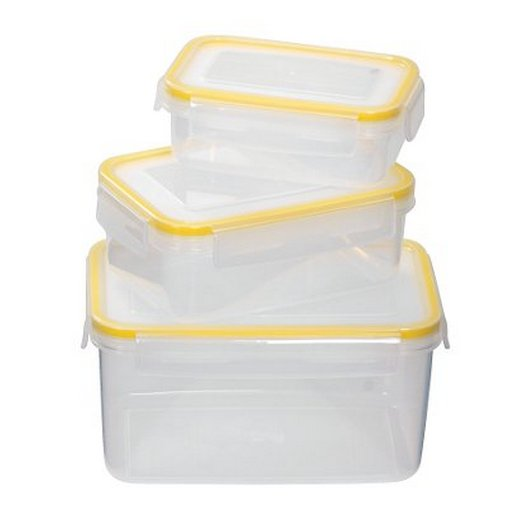 Legend Snappy Container 3pc Rectangle set