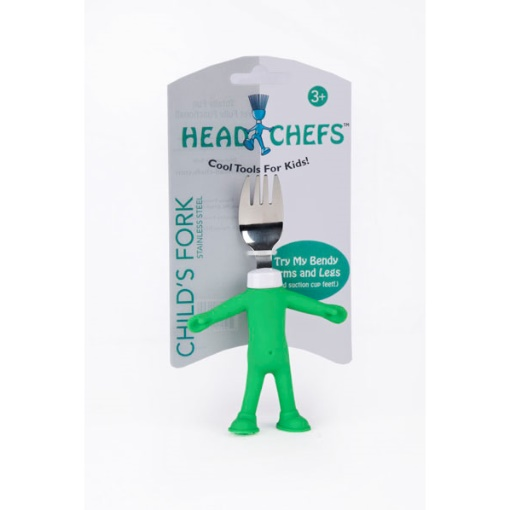 Fiesta Head Chef's Child's Fork - Mint