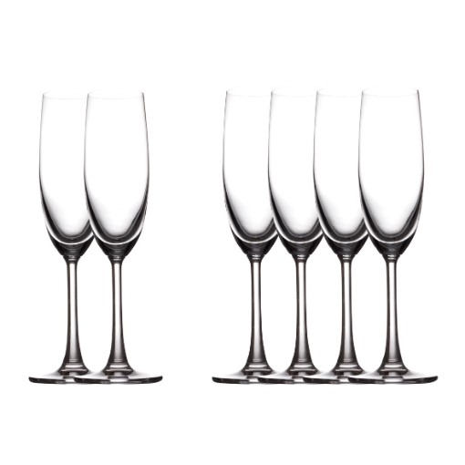 Maxwell & Williams Cosmopolitan Champagne Flute - Set of 6