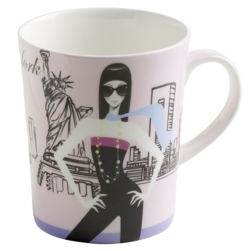 Maxwell & Williams City Girls New York Mug - 400ml