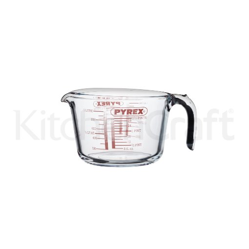 Kitchen Craft Glass Measuring Jug - 1 Litre