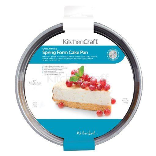 Kitchen Craft spring form cake pan