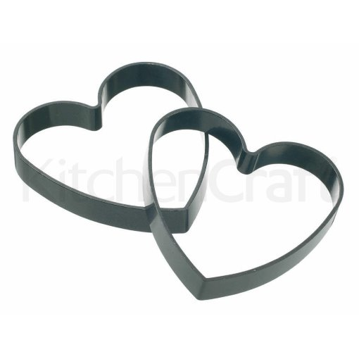 Kitchen Craft Heart Shaped Egg Rings