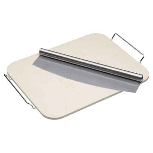 World of Flavours Italian Large Pizza Stone & Cutter