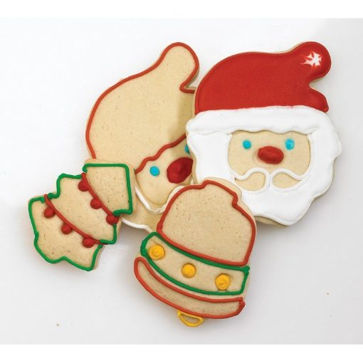 Cuisipro Nesting Christmas Cookie Cutter Set