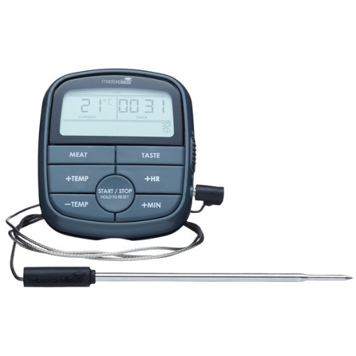 Master Class Cook's Timer and Thermometer