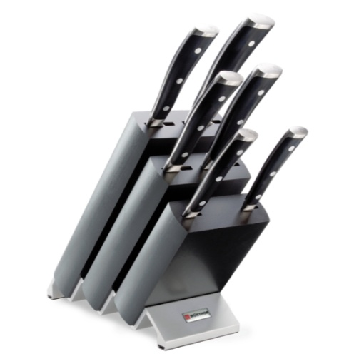 Wusthof Classic Ikon 6 Piece Knife Block Set
