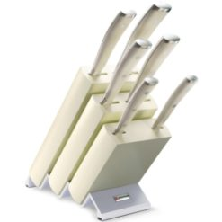 Wusthof Classic Ikon Creme 6 Piece Knife Block Set