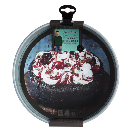 Jamie Oliver Loose Base Round Tin 23cm