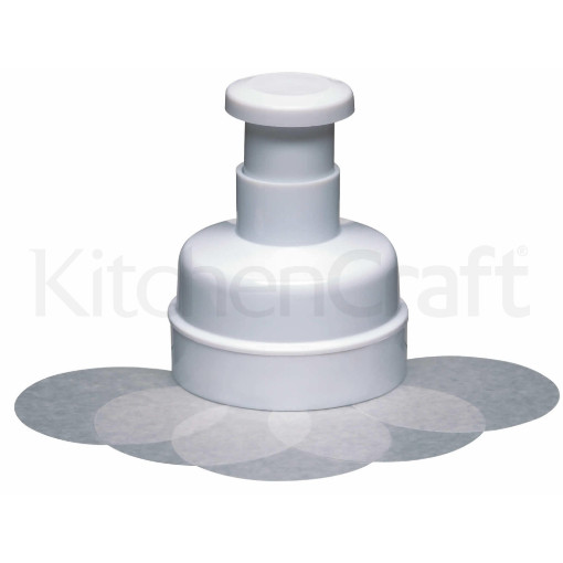 Kitchen Craft Burger Maker Small With 100 Wax Discs