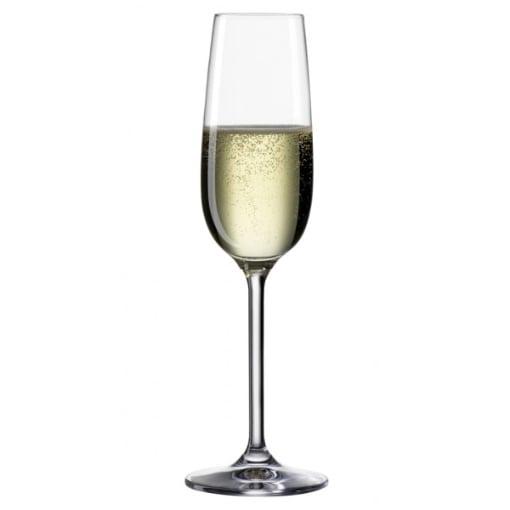 Bohemia Clara Champagne Glasses 190ml Box of 6