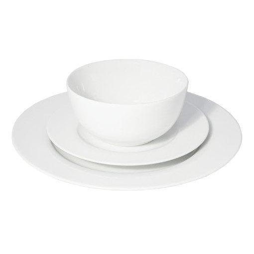 Eetrite Just White Porcelain Dinner Set