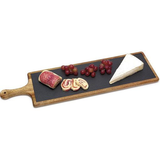 Acasia Cheese Board with Slate Insert