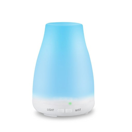 GreenLeaf Essential Oil Diffuser and Humidifier, 120ml with LED Lights