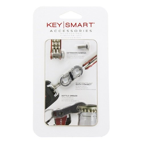 KeySmart Accessory Pack | 14 Keys | Quick Discconnect and Bottle Opener