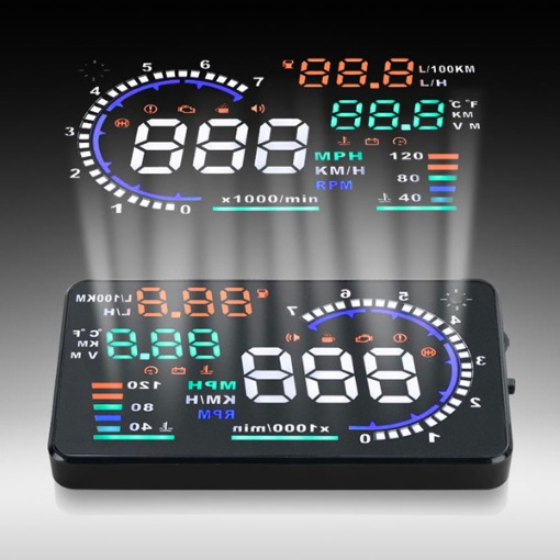 Smugg A8 OBD2 Heads Up Display (HUD)