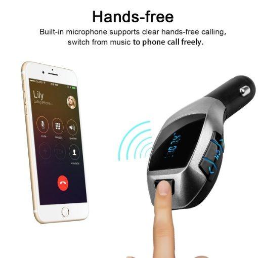 Smugg X5 Bluetooth FM Transmitter