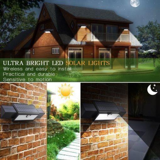 Smugg Motion Sensor Solar Light