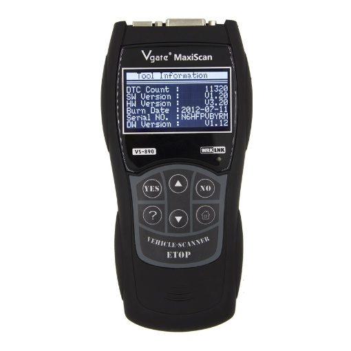 Vgate VS890 Maxiscan Professional OBD2 Car Diagnostic Scanner