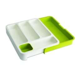 Joseph Joseph Expandable Cutlery Tray Green