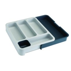 Joseph Joseph Expandable Cutlery Tray Grey