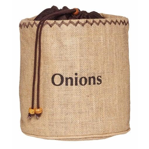 KitchenCraft Natural Elements Onion Storage Bag