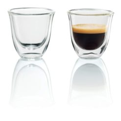 Delonghi Double Walled Espresso Glasses