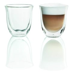 Delonghi Double Walled Cappuccino Glasses Set of 2