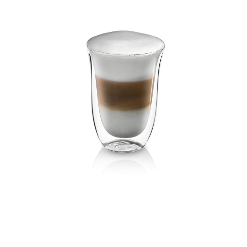 Delonghi Double Walled Latte Glasses