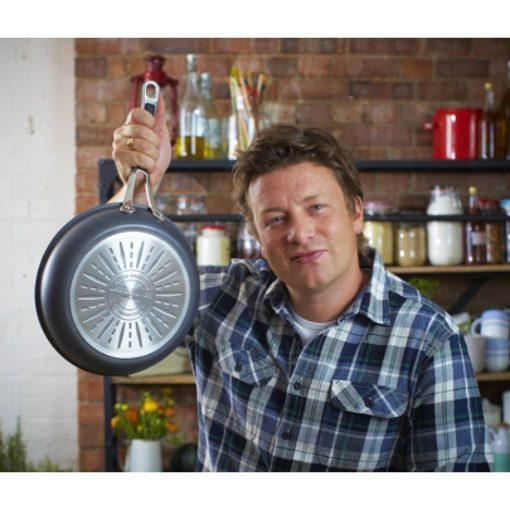 Jamie Oliver Hard Anodised Saute Pan 26cm