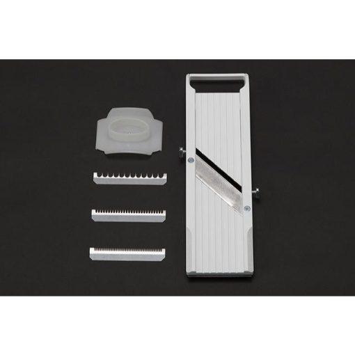 Global Benriner Mandoline Slicer with Three Interchangeable Blades