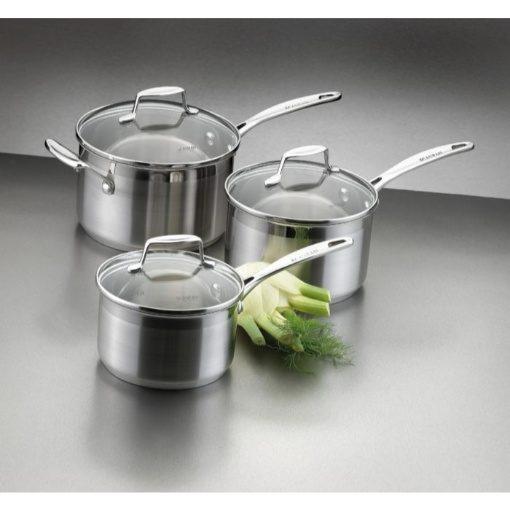 Scanpan Impact 3 Piece Cookware Set