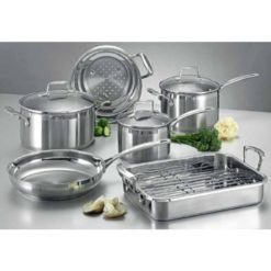 Scanpan Impact 6pc Cookware Set incl Roasting Pan