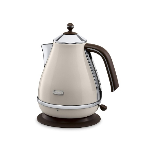 Delonghi Icona Vintage Kettle, Cream
