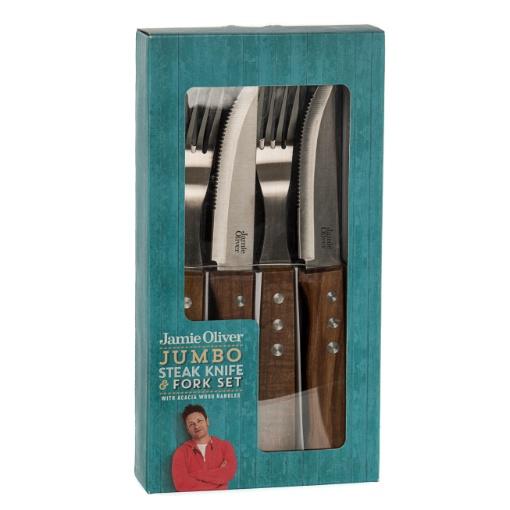 Jamie Oliver Jumbo Steak Knife and Fork Set
