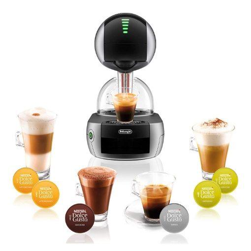 Nescafe Dolce Gusto Stelia Capsule Coffee Machine Silver