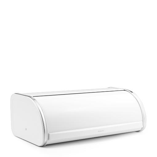 Brabantia Bread Bin Roll Top - White