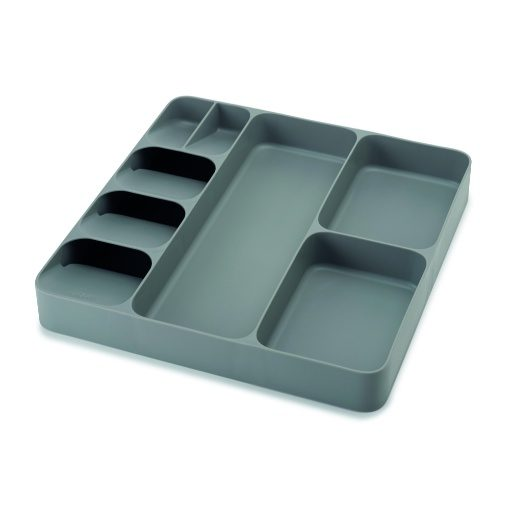 Joseph Joseph DrawerStore™ Cutlery and Utensil Organiser - Grey