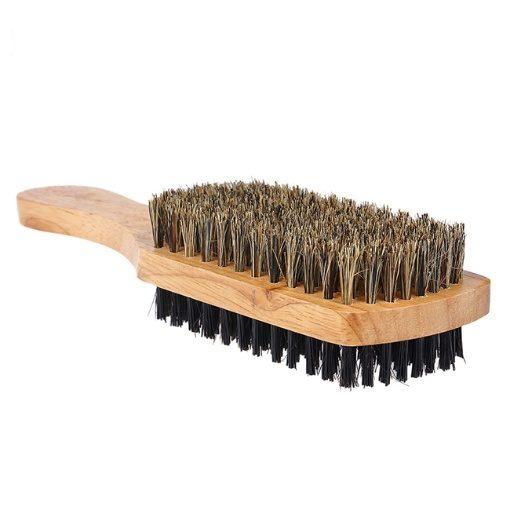 GreenLeaf Wooden Double Sided Beard Brush