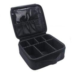 GreenLeaf Makeup Travel Bag, Black