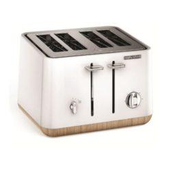 Morphy Richards 4 Slice Toaster White