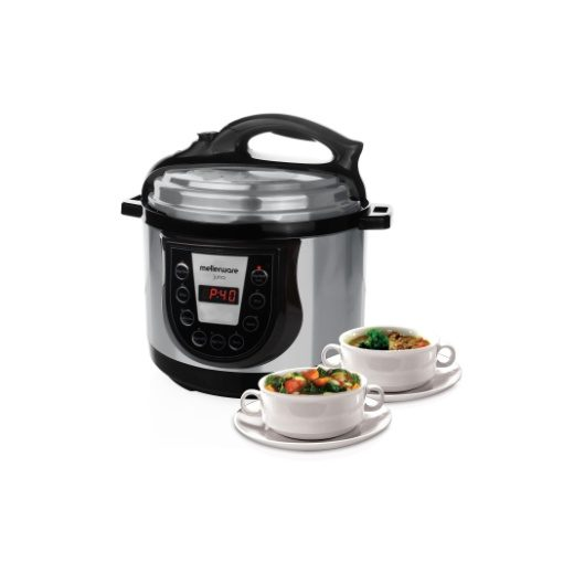 Mellerware Juno Electric Pressure Cooker 900W 5 Litre