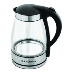 Russell Hobbs Glass Kettle with Blue LED Light Ring 1.7 Litre